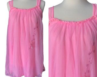 b1dd5756718 Pink sheer babydoll