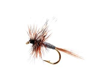 Grey Wulff Dry Fly - Fly Fishing Flies- Dry Flies