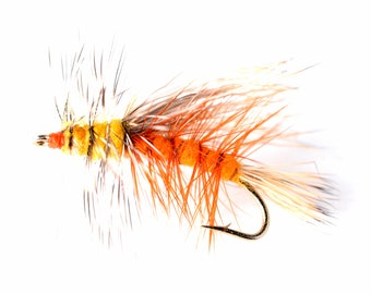Stimulator Dry Fly Attractor Pattern - Orange