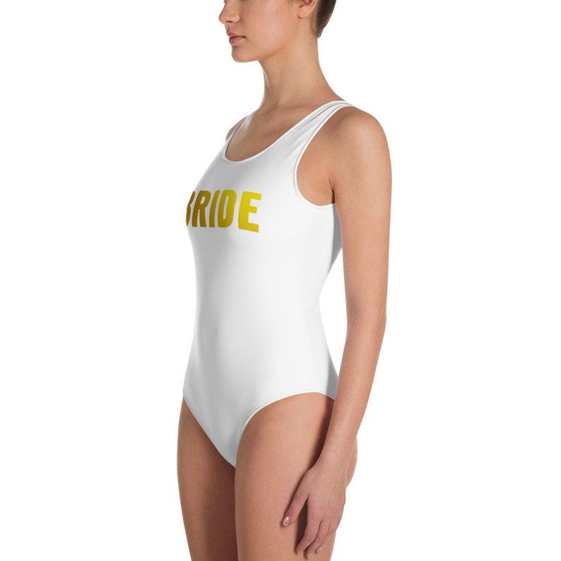 63bd394135f BRIDE One Piece Swimsuit Plus Size Bride Bathing Suit White