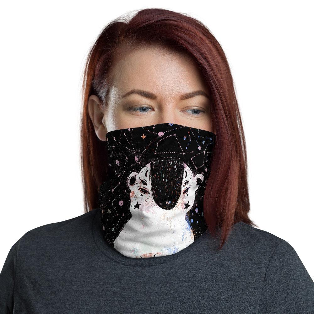 4X Unisex Bandana Neck Gaiter Riding Mask Tube Headwear Face Bandana Scarf UK
