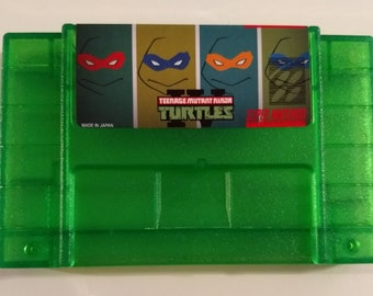 tmnt turtles in time snes rom