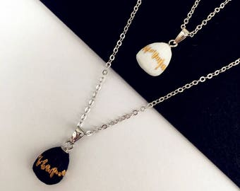 free shipping Heart Beat Necklace - Inkston & YIER Designers Porcelain Jewelry