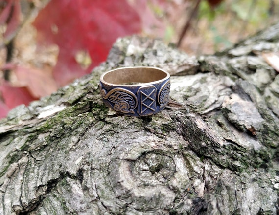 Göttin Freya Viking Rune Katze Ring nordischen heidnischen Ring Valkyrie Ring keltischen Ring