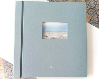 Wedding Photo Album 38x36 40 pages gold foil guestbook