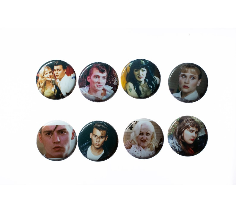8 Cry Baby 1 Pinback Buttons or Magnets