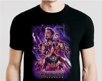 8b6e6f465 T SHIRT AVENGERS ENDGAME / Men Woman Kids Sizes Xs-5XL / tshirt movie / tee  sci-fi / shirt gift / superhero / Iron Man / thanos / Captain