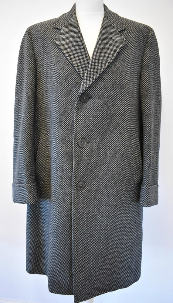 Vintage Chester Barrie Overcoat - Hand Tailored Be