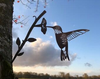 Metal Hummingbird Etsy