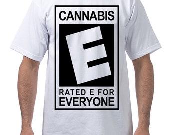 Cannabis Heavyweight Cotton Short Sleeve Crew Neck