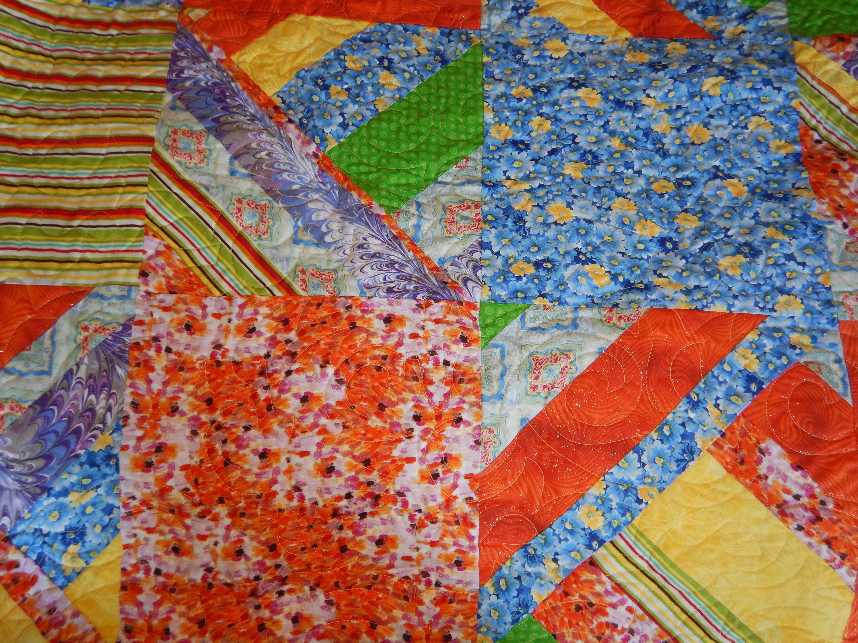 Coloré et ludique Twin Sized Kid's Monkey Homemade Cotton Quilt