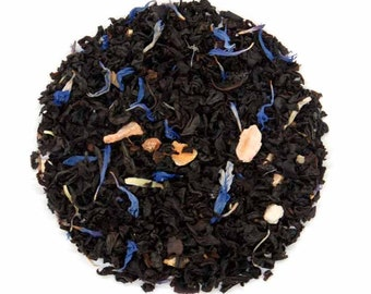 Royal Cream Earl Grey ~ A luscious blend of black tea, bergamot and a rich sweet cream flavour