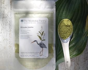 Organic Matcha Green Tea Powder - Shizuoka Matcha Green Tea Powder - Luxury