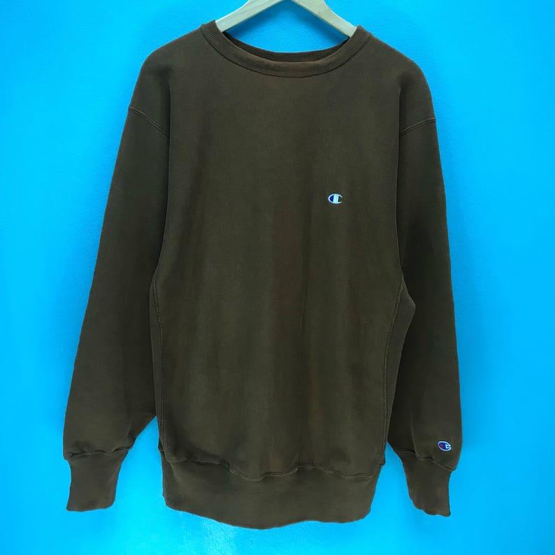 061439a12a0a Rare Vintage Champion Sweatshirt Champion Small Logo image 0 ...