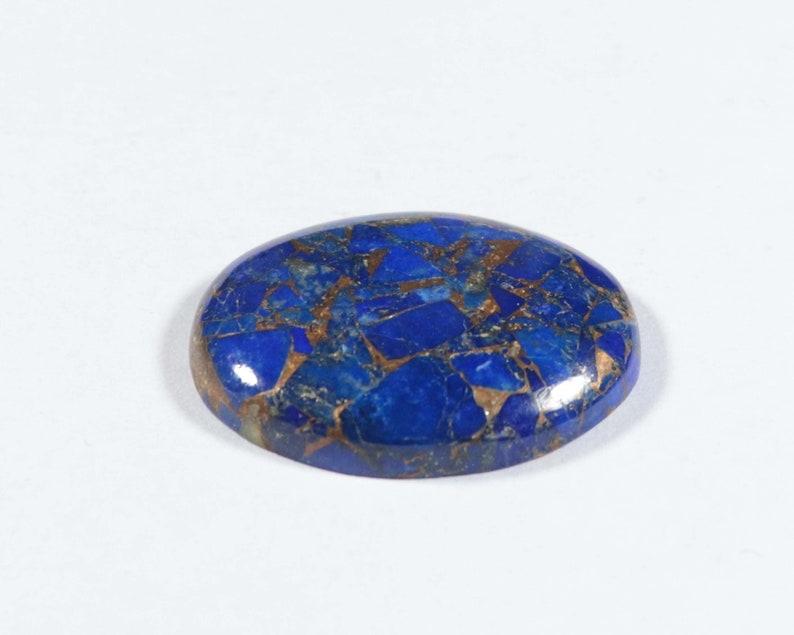 Natural Lapis Copper Turquoise Oval Shape 23.80 Cts Lapis Copper Turquoise Cabochon 26x20x5 mm Super Quality Lapis Turquoise Gemstone