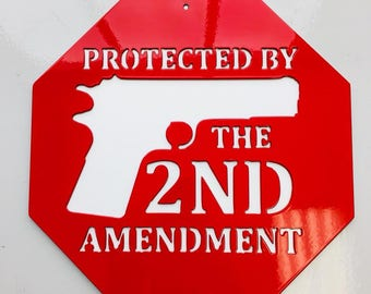 2nd Amendment, Stop Sign