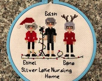 Ingrid Michaelson Holiday Hop Cross Stitch