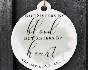 Sisters By Heart Etsy