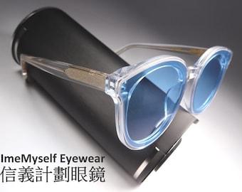 2b0d15a383181 ImeMyself Eyewear Watanabe Toru WT216 extra large frames optical spectacles  Rx prescription eyeglasses round sunglasses CP   gentle monster