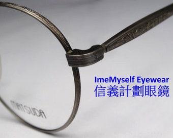 da3fdc98a05 ImeMyself Eyewear Matsuda 2802 Rare ! classic vintage optical frame Rx  prescription applicable round eyeglasses