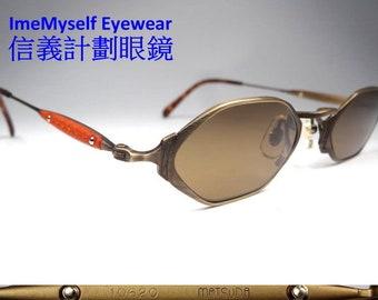 2fe9d7eb0e14 ImeMyself Eyewear Matsuda 10620 authentic original rare vintage polygon  optical spectacles Rx prescription frames eyeglasses sunglasses