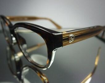 36167444136 ImeMyself Eyewear Gucci GG 3758 F Tokyo tortoise classic vintage optical  frame Rx prescription applicable round rectangular eyeglasses