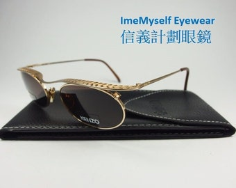 b9f964208cc ImeMyself Eyewear KENZO CREOLE K1379 feather hollow optical frame Rx  prescription applicable oval UV protection sunglasses
