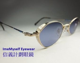 d4c11e24008 ImeMyself Eyewear Matsuda 10628 retro vintage style sunglasses UV  protection angular frame