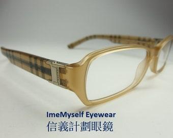 c6551a83df1c ImeMyself Eyewear Burberry B 2082 retro vintage rectangular plastic optical  spectacles Rx prescription applicable eyeglasses frame