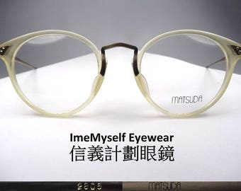 3bc1889c40e ImeMyself Eyewear Matsuda 2805 Rare Vintage Frame for Prescription  Eyeglasses