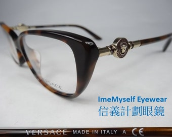 4797b39cd60 ImeMyself VERSACE 3206-A frames optical spectacles eyeglasses Rx  prescription for near far sighted reading glasses transition lenses