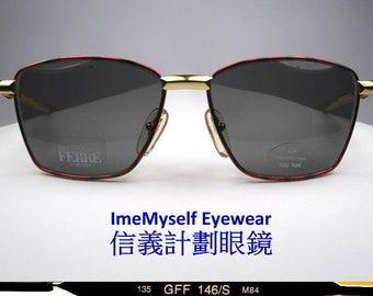 0972cedb71 ImeMyself Eyewear GIANFRANCO FERRE GFF 146/S vintage optical frame Rx  prescription applicable rectangular sunglasses Uv protection