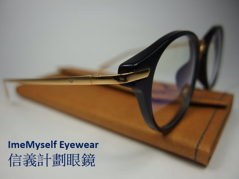 74aade83029f ImeMyself Eyewear OMG OTWO 9027 made in Japan vintage round