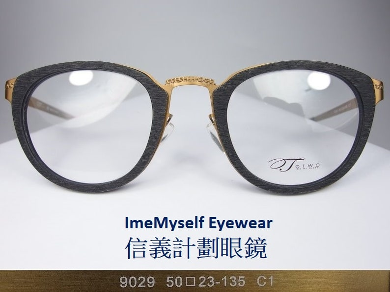 024a468a2e45 ImeMyself Eyewear OMG OTWO 9029 made in Japan vintage round