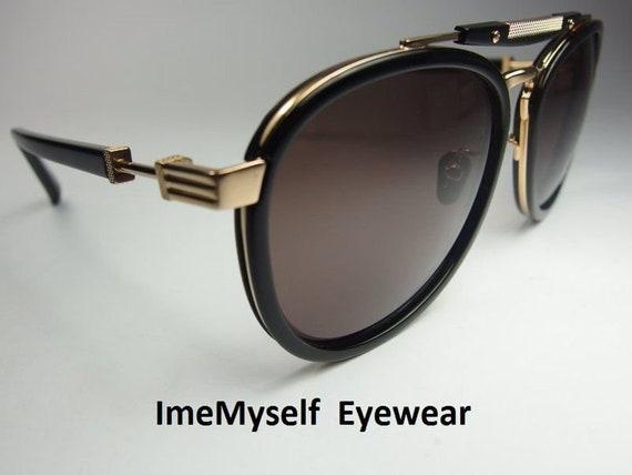Gold Jean Paul Gaultier 58-6104 90 S Vintage Lunettes de soleil imemyself Eyewear
