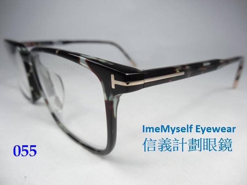 TOM FORD TF5607 rectangular optical frames made in Italy spectacles prescription eyeglasses for transitions lenses bril K\u00ednh glas\u00f6gon Gelas