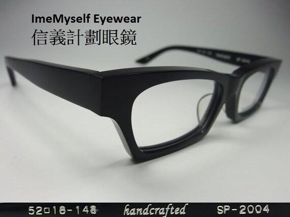 edd4996a5fb ImeMyself Eyewear SPIVVY SP 2004 Black Japan handcrafted