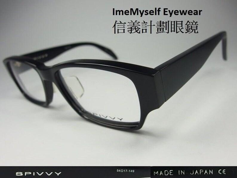 150d7872700 ImeMyself Eyewear SPIVVY SP2069 vintage classic optical frame Rx  prescription applicable rectangular eyeglasses handmade in Japan