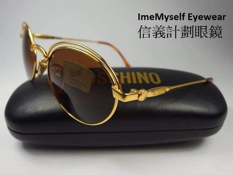 7538fa3944a1 ImeMyself Eyewear MOSCHINO by Persol M44 vintage optical | Etsy