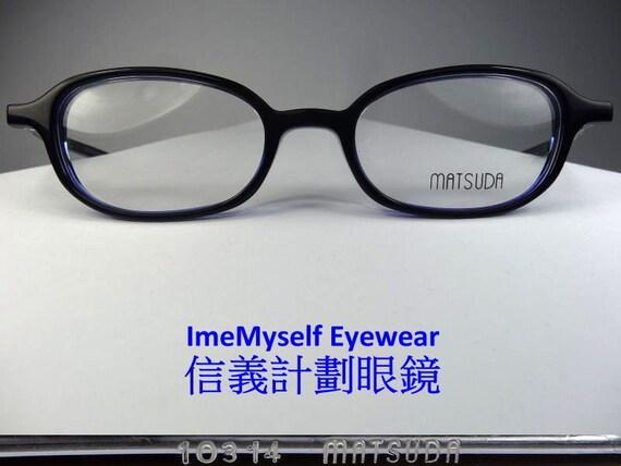 d396b9eda5 ImeMyself Eyewear Matsuda 10314 vintage optical frames
