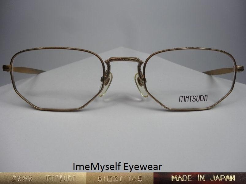 3de99fb22a ImeMyself Eyewear Matsuda 2866 vintage Rx prescription frames