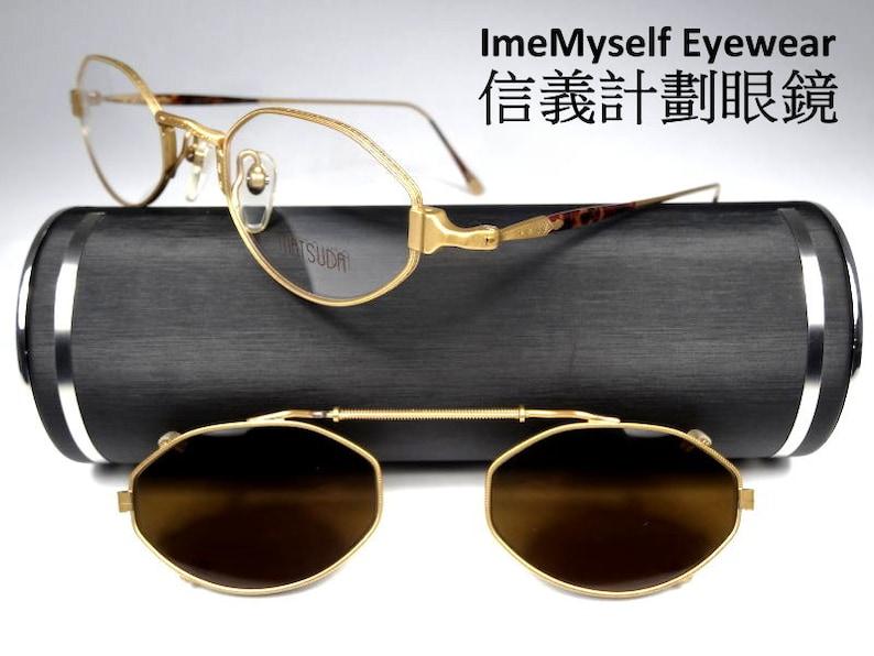a27343985f ImeMyself Eyewear Matsuda Rare 10110 90 s clip-on