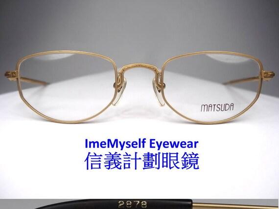dd3f9d11eb1 ImeMyself Eyewear Matsuda 2878 Vintage Optical Frame