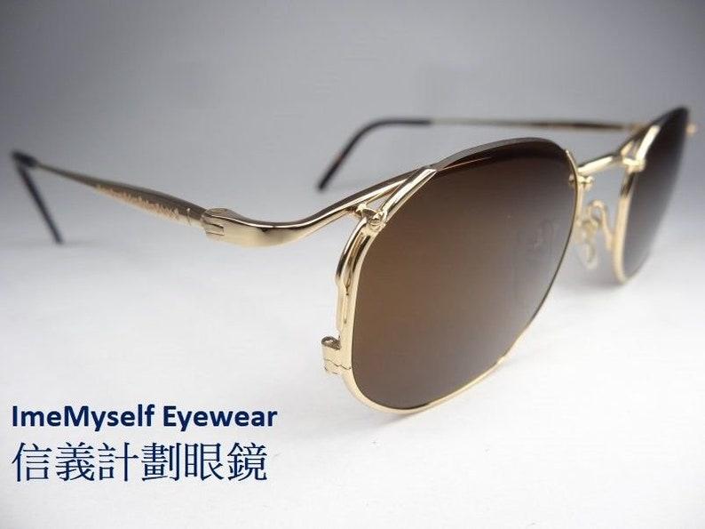 9a5461739b ImeMyself Eyewear Matsuda 2856 reverse half-rim vintage
