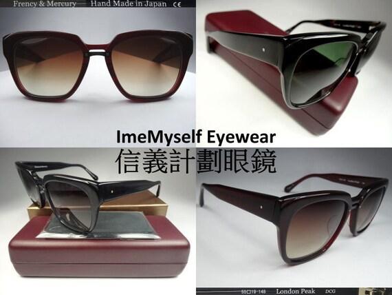 1fe9c974669 ImeMyself Eyewear Frency   Mercury London Peak handmade Japan