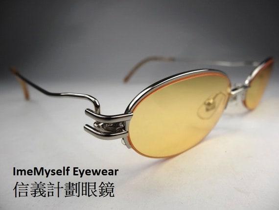 Jean Paul Gaultier JPG 56-0065 half rim frames Rx spectacles vintage sunglasses