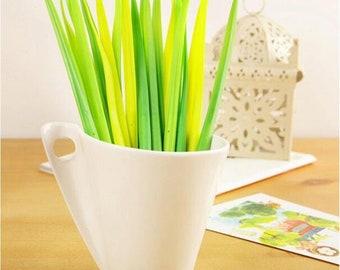 Blades of Grass Gel Pen Set
