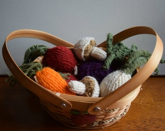 Knit Vegetables 2 items