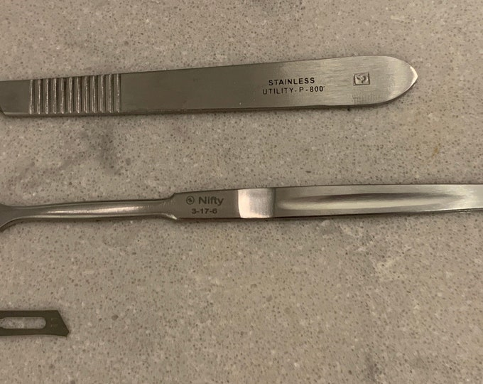 Scalpels and Blades - Free Canadian Shipping