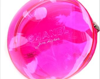 e11e18e2f09ec5 CHANEL VIP GIFT with purchase Pink Small Makeup Bag